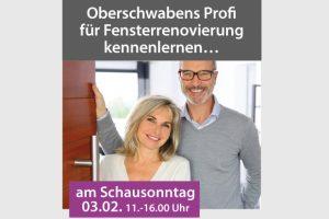 Schausonntag am 10.03.2019, 11.00 – 16.00 Uhr in Ummendorf und Rechberghausen